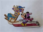 Disney Trading Pins 51556 DisneyShopping.com - Mickey & Goofy in the Snow Artist Proof