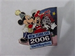 Disney Trading Pins 51744 WDW - New Year's Eve 2006 - Mickey and Minnie Mouse