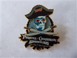 Disney Trading Pin  51926 WDW - Adventures on the 7 Seas Lagoon - Event Logo - Skull and Crossbones