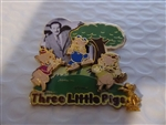 Disney Trading Pin 51945 WDW - Walt Disney Award Winning Performances (Three Little Pigs)