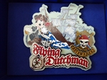Disney Trading Pin 52049 DCL - Featured Artist 2007 Collection - The Flying Dutchman at Castaway Cay