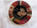 Disney Trading Pin 521: Epcot - Mickey with Circle of Country Flags (2000)