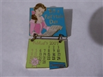 Disney Trading Pin 52125 DLR - 2007 Holidaze Calendar Collection - February (Belle)
