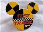 Disney Trading Pin 522: Test Track Mickey Head Logo