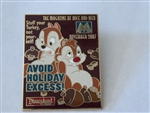 Disney Trading Pin  52207 DLR - M Magazine Collection 2007 - November (Chip and Dale)