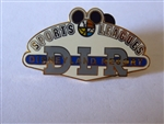 Disney Trading Pin  52371 DLR - Cast Exclusive - Sports Leagues - 2 Pin Set (Logo Pin Only)