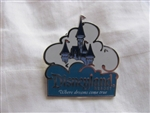 Disney Trading Pin 52419: DLR - Costco Travel - ''Where Dreams Come True'' - Teal Logo