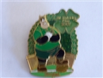 Disney Trading Pin 52454 DLR - St. Patrick's Day 2007 - Pete Playing Rugby