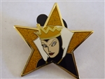 Disney Trading Pin 52619 DisneyShopping.com - Gold Star Series (Evil Queen)