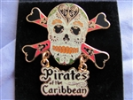 Disney Trading Pin 52803: Pirates of the Caribbean - Pirate Skull