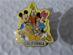 Disney Trading Pins 52892 Jerry Leigh - California Pin Collection - Fab 6 Group