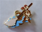 Disney Trading Pin 53262 WDW - A Pirates Life for Me - Chip and Dale