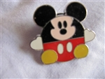 Disney Trading Pin 53389: Round Characters Boxed Set (Mickey)