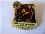 Disney Trading Pin  53419 Pirates of the Caribbean - At World's End - Countdown #2 - Will Turner