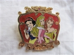 Disney Trading Pin 53874: DLR - Starter Set - Princess Pin Trading - Snow White, Aurora, and Belle Only