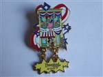 Disney Trading Pin  54226 DLR - Fun on the 4th of July 2007 - Mickey and Minnie
