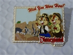Disney Trading Pins 54799 DLR - Wish You Were Here 2007 - Frontierland (Chip 'n' Dale)
