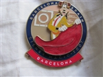 Disney Trading Pins 54816: DCL - Mediterranean Cruise 2007 - Barcelona, Spain (Goofy)