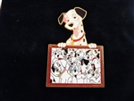 Disney Trading Pin  54863 DS - Father's Day 2007 - 101 Dalmatians