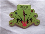 Disney Trading Pin 5489: WDW - Fantasia 2000 Flamingo (Lime Green)