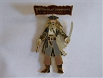 Disney Trading Pin  54921 DSF - Pirates of the Caribbean - At World's End - Jack Sparrow