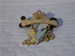 Disney Trading Pin 55216 Tinker Bell with a Jeweled Crown ( Dangle )