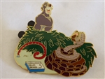 Disney Trading Pin  55532 DisneyShopping.com - 4th of July 2007 Mystery Box Set (Baloo & Kaa Only)