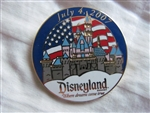 Disney Trading Pins 55563: DLR - Cast Member - Working Day - July 4, 2007
