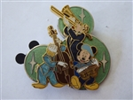 Disney Trading Pin  55773 DLR - Mickey's Pin Festival of Dreams - Music Collection Completer Pin Only - Fab 3 Trio