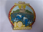 Disney Trading Pin 55780 WDW - Disney's Coronado Springs Resort - 10th Anniversry (Chip & Dale)