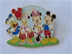 Disney Trading Pin  56228 DLR - Mickey's Pin Festival of Dreams - Young At Heart Collection - Fab Four