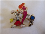 Disney Trading Pin  56250 DisneyShopping.com - Space Age Series - Jessica & Roger Rabbit