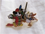 Disney Trading Pin 56439: Mickey Through The Years Collection - Mystery 2 Pin Card Set (1935 Mickey & Donald Only)