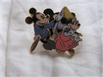 Disney Trading Pins 56440: Mickey Through The Years Collection - Mystery 2 Pin Card Set (1938 Mickey & Minnie Only)