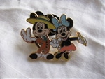 Disney Trading Pin 56443: Mickey Through The Years Collection - Mystery 2 Pin Card Set (1941 Mickey & Minnie Only)
