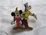 Disney Trading Pins 56444: Mickey Through The Years Collection - Mystery 2 Pin Card Set (1947 Mickey & Goofy Only)