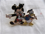 Disney Trading Pin 56445: Mickey Through The Years Collection - Mystery 2 Pin Card Set (1955 Mickey & Donald Only)