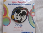 Disney Trading Pin 56603: WDW - United Way Participant 2007 - Mickey Mouse