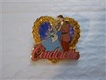 Disney Trading Pin 5678 DS Japan Cinderella - Couple Series