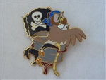 Disney Trading Pin 56803 Pirate Owl