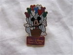 Disney Trading Pins 57159: Walt Disney Travel Co. - Mickey with Mickey Balloons (Color Variation)