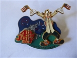 Disney Trading pins 5751 DCA 4th of July Goofy waving flags