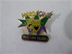 Disney Trading Pin   57537 WDW - Cast Pleasure Island Attendance Record Pin (Mardi Gras)