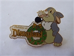 Disney Trading Pin 57762 DLR - Happy Holiday's - Thumper - Travel Agent Premium Pin