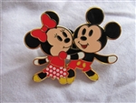 Disney Trading Pins 57814: Flexible Characters Series - Mickey & Minnie Mouse