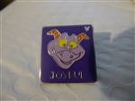 Disney Trading Pin Hidden Mickey 2007 Series 2 - Joyful Figment