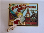 Disney Trading Pins  58068 DLR - 2007 Holiday Greetings from Tinker Bell