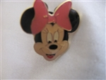 Disney Trading Pin  581: Monogram - Minnie Head (Pink Bow)