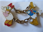 Disney Trading Pins 5819 Donald and Daisy Duck Birthday Dangle