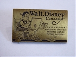Disney Trading Pin 5870 Milestone Set #1 -- Walt's Business Card